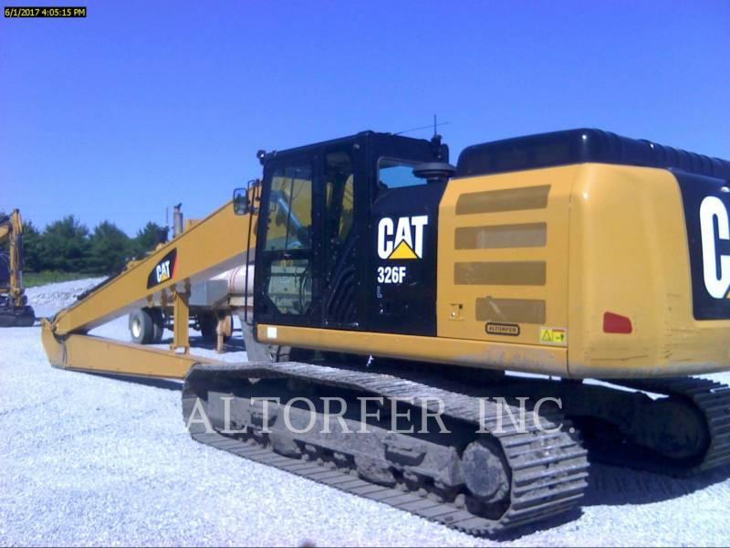 CATERPILLAR TRACK EXCAVATORS 326FL LR equipment  photo 1