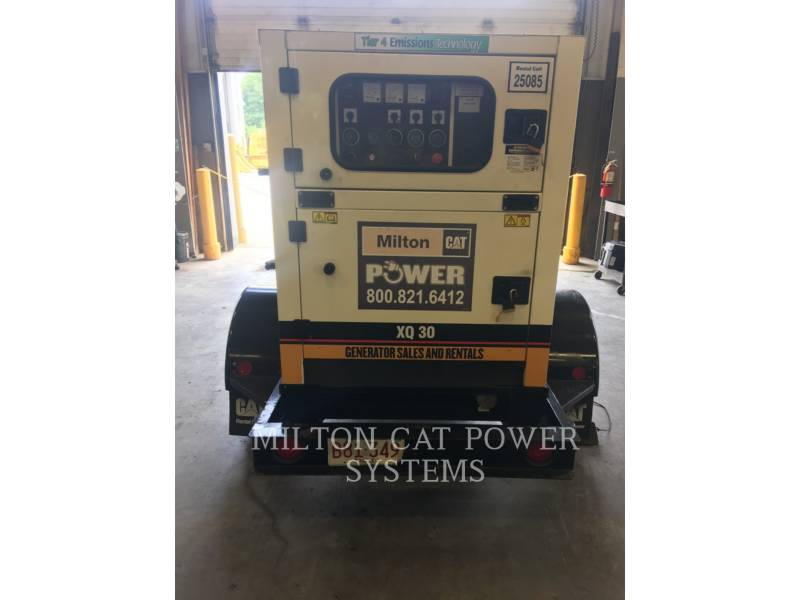 CATERPILLAR PORTABLE GENERATOR SETS XQ30T4 equipment  photo 2