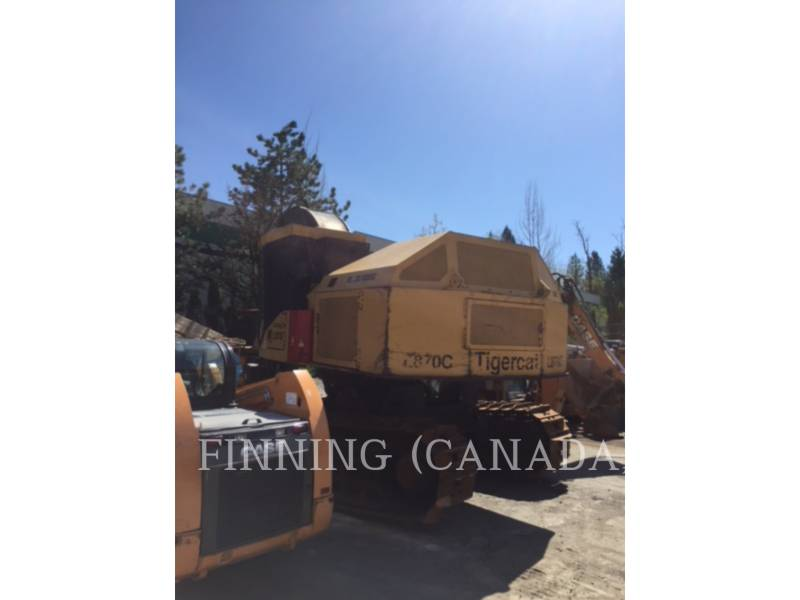 TIGERCAT FORESTRY - FELLER BUNCHERS - TRACK L870C equipment  photo 5