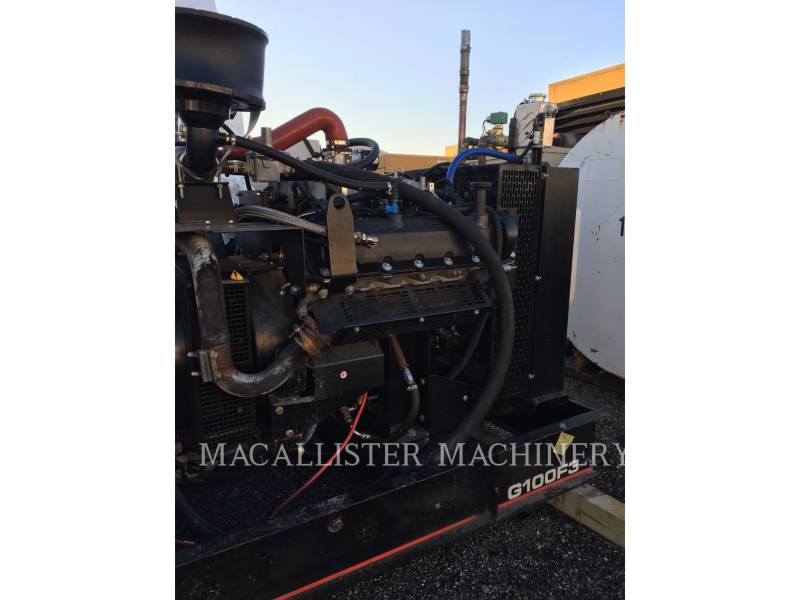 OLYMPIAN STATIONARY GENERATOR SETS G100F3 equipment  photo 2