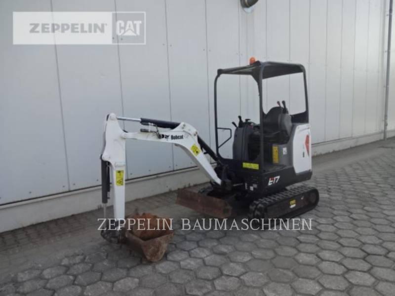 BOBCAT TRACK EXCAVATORS E17 equipment  photo 1