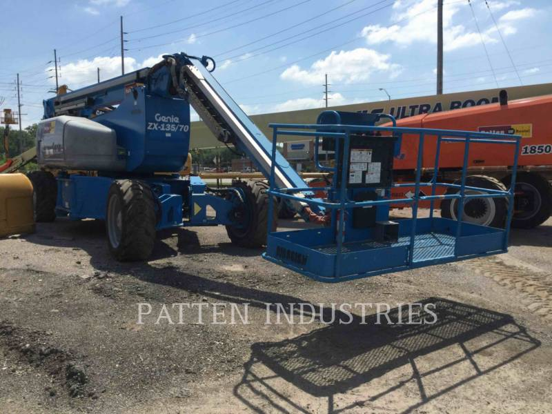 GENIE INDUSTRIES LIFT - BOOM ZX135 equipment  photo 1
