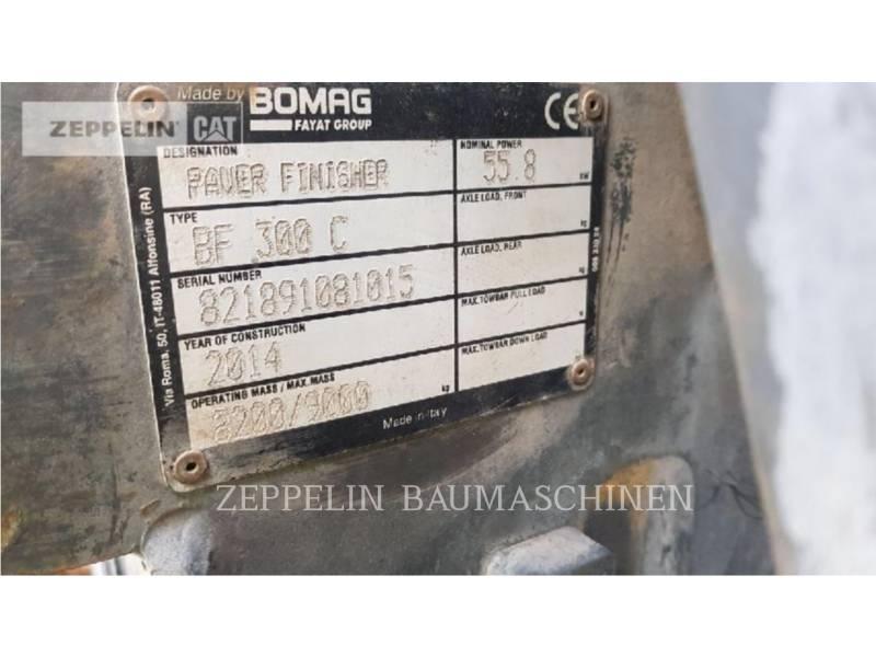 BOMAG FINISSEURS BF300C equipment  photo 7