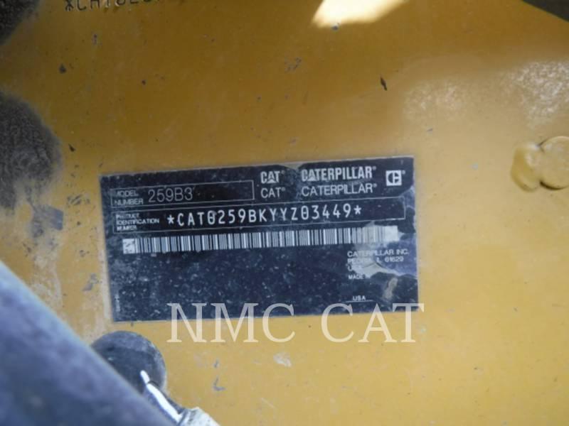 CATERPILLAR MULTI TERRAIN LOADERS 259B3 equipment  photo 6