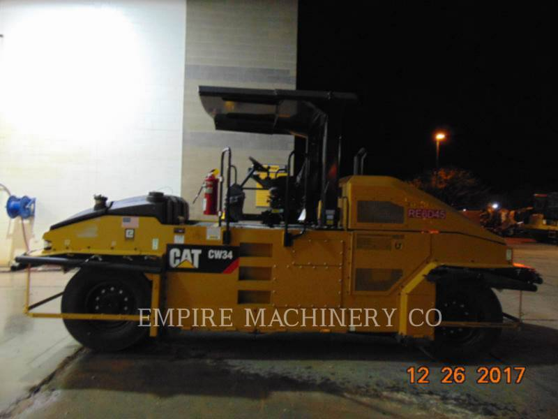 CATERPILLAR PNEUMATIC TIRED COMPACTORS CW34 equipment  photo 5
