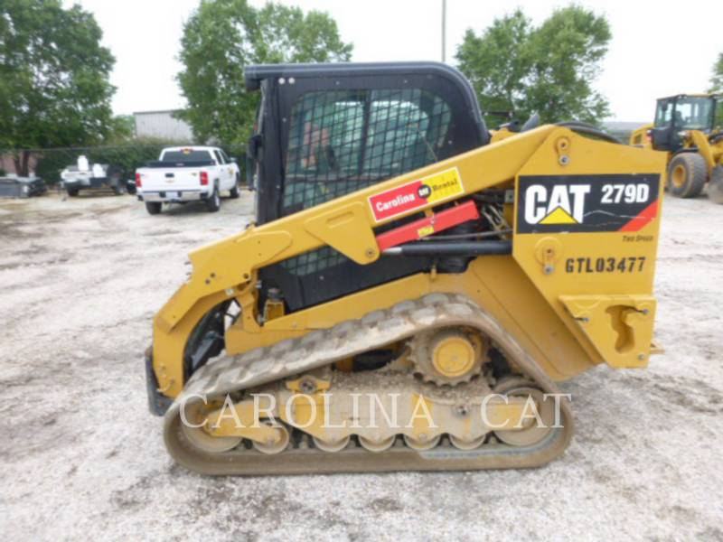 CATERPILLAR CHARGEURS SUR CHAINES 279D CB equipment  photo 5