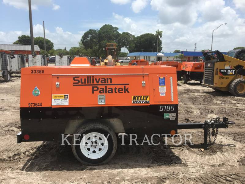 SULLIVAN COMPRESSORE ARIA (OBS) D185P DZ equipment  photo 2