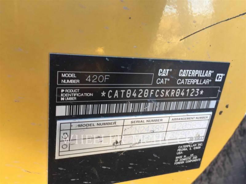 CATERPILLAR BACKHOE LOADERS 420F E equipment  photo 5