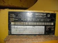 CATERPILLAR CAMIONES ARTICULADOS 735 equipment  photo 13