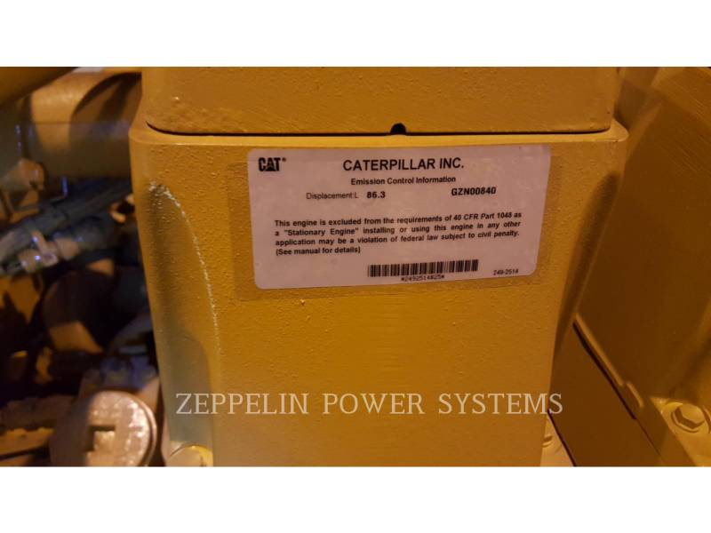 CATERPILLAR STATIONARY - NATURAL GAS G3520C UNUSED equipment  photo 5