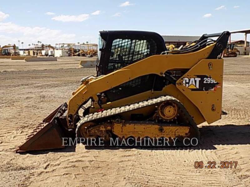 CATERPILLAR スキッド・ステア・ローダ 299D CA equipment  photo 2