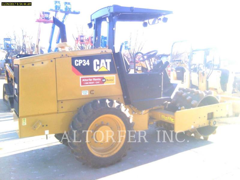 CATERPILLAR EINZELVIBRATIONSWALZE, GLATTBANDAGE CP34 equipment  photo 3