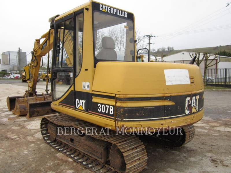 CATERPILLAR TRACK EXCAVATORS 307B equipment  photo 3