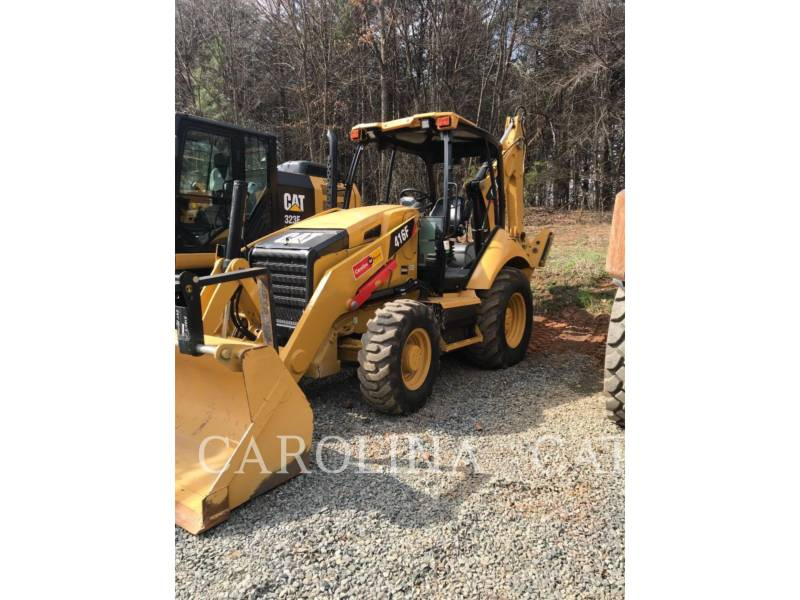 CATERPILLAR BACKHOE LOADERS 416F ST FF equipment  photo 4