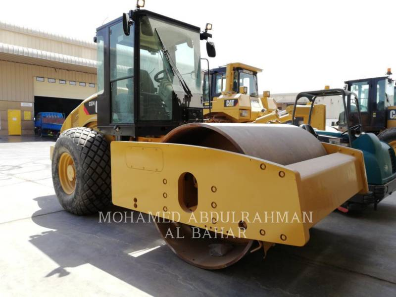 CATERPILLAR COMPACTEUR VIBRANT, MONOCYLINDRE LISSE CS 74 equipment  photo 6