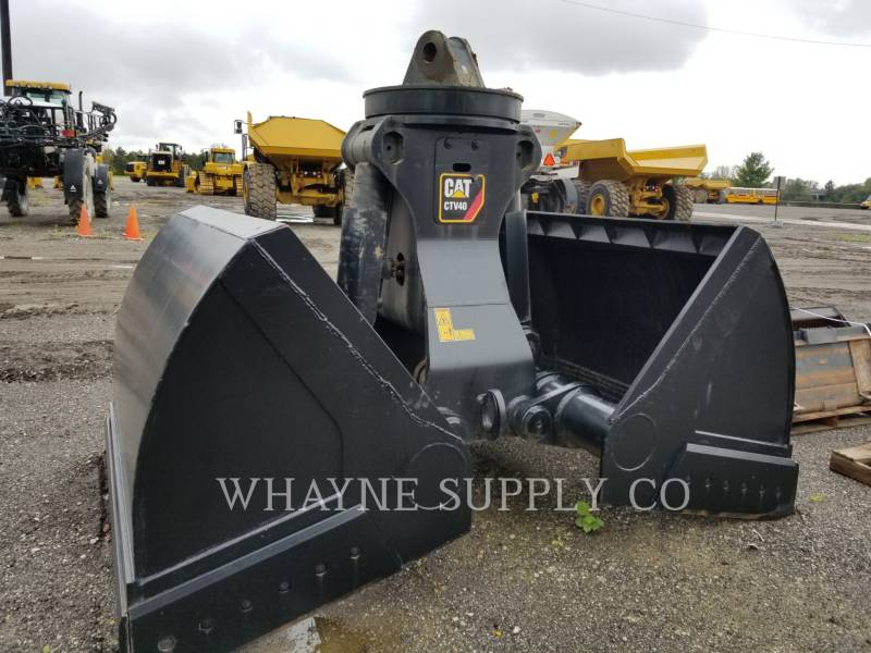 CATERPILLAR HERRAMIENTA: CUCHARÓN CTV40 5 YD3 CLAMSHELL equipment  photo 1