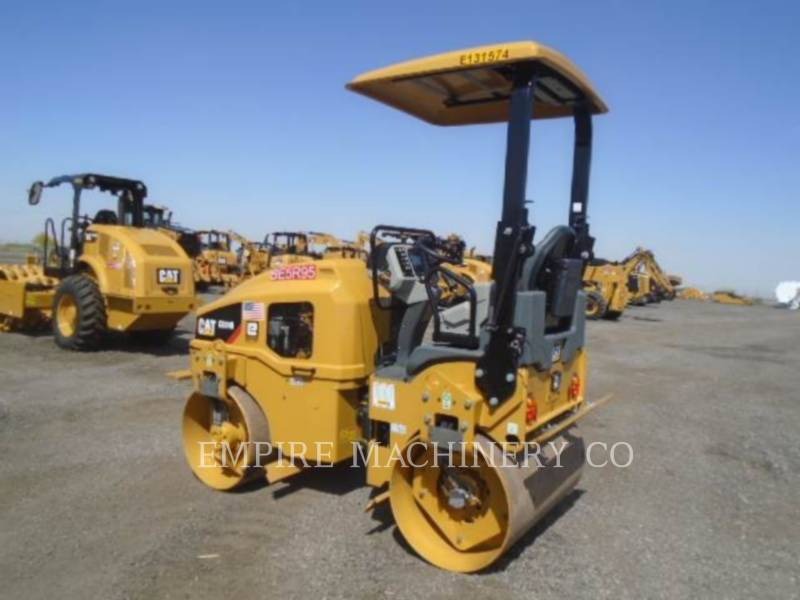 CATERPILLAR TANDEMOWY WALEC WIBRACYJNY DO ASFALTU (STAL-STAL) CB24B LT equipment  photo 3