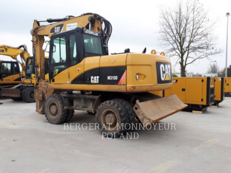 CATERPILLAR WHEEL EXCAVATORS M315D equipment  photo 4