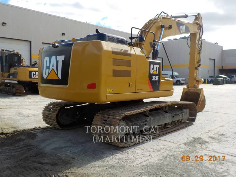 CATERPILLAR KETTEN-HYDRAULIKBAGGER 323FL equipment  photo 4