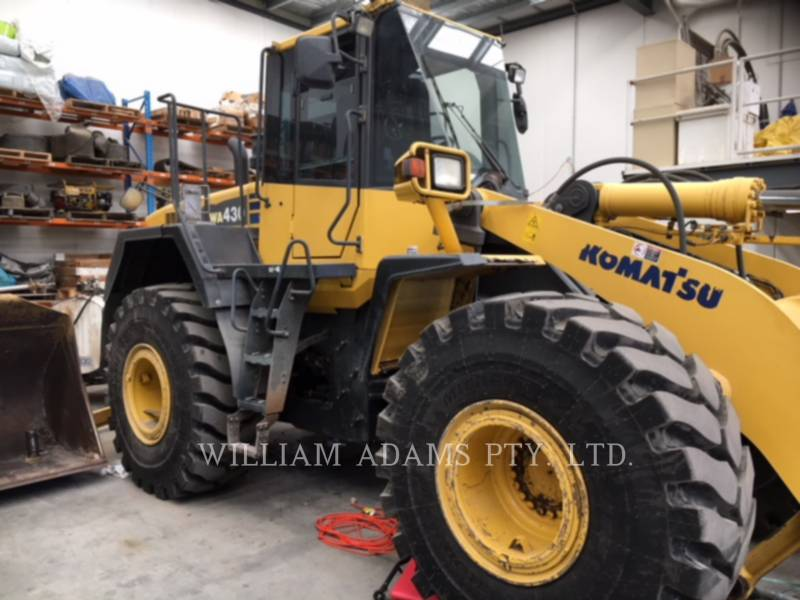 KOMATSU LTD. WHEEL LOADERS/INTEGRATED TOOLCARRIERS WA430-6 equipment  photo 2