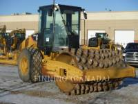 Equipment photo CATERPILLAR CP56 COMPACTEUR VIBRANT, MONOCYLINDRE À PIEDS DAMEURS 1
