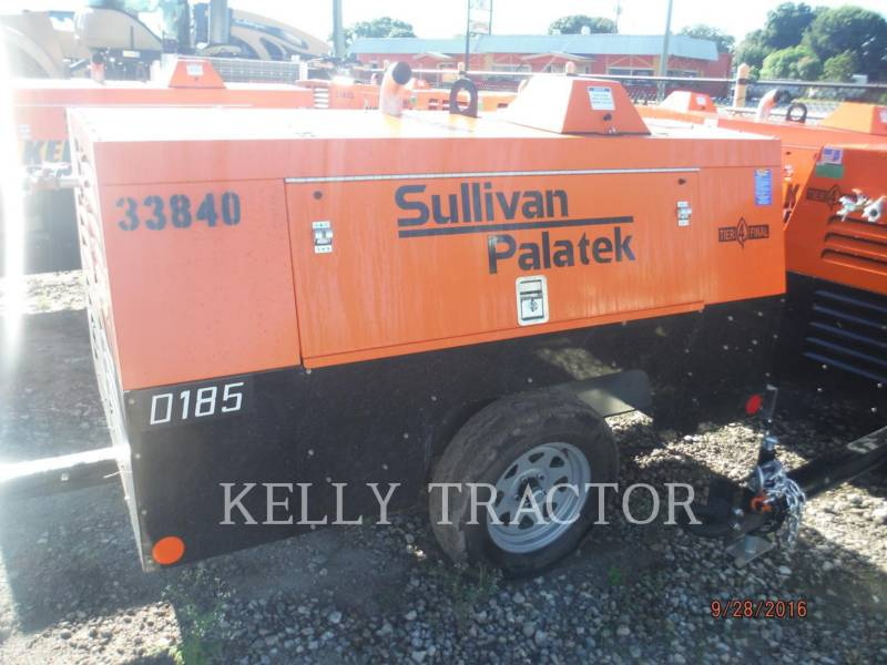 SULLIVAN LUCHTCOMPRESSOR D185P DZ equipment  photo 1