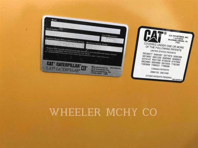 CATERPILLAR TELEHANDLER TL1255D CB equipment  photo 6