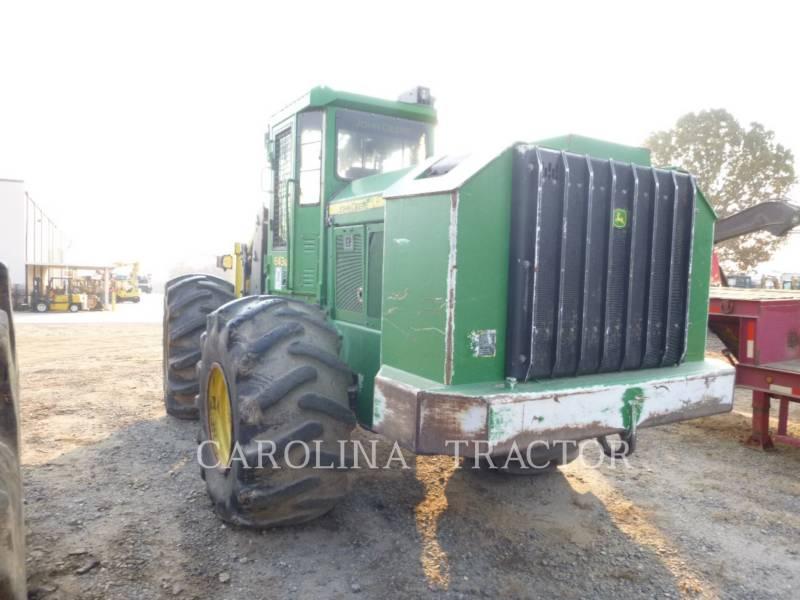 JOHN DEERE SILVICULTURA - COLHEDORA-EMPILHADEIRA DE ÁRVORES - RODAS 643K equipment  photo 5