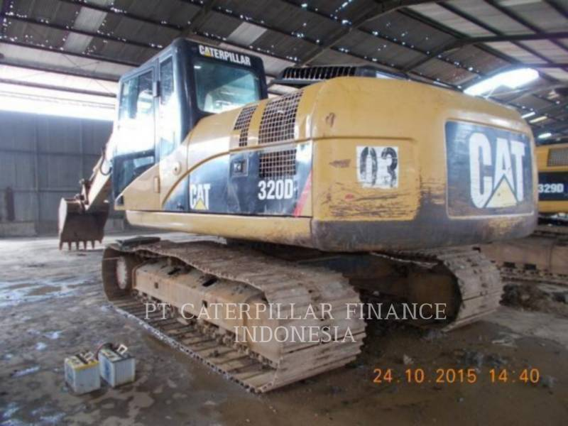 CATERPILLAR TRACK EXCAVATORS 320D equipment  photo 8