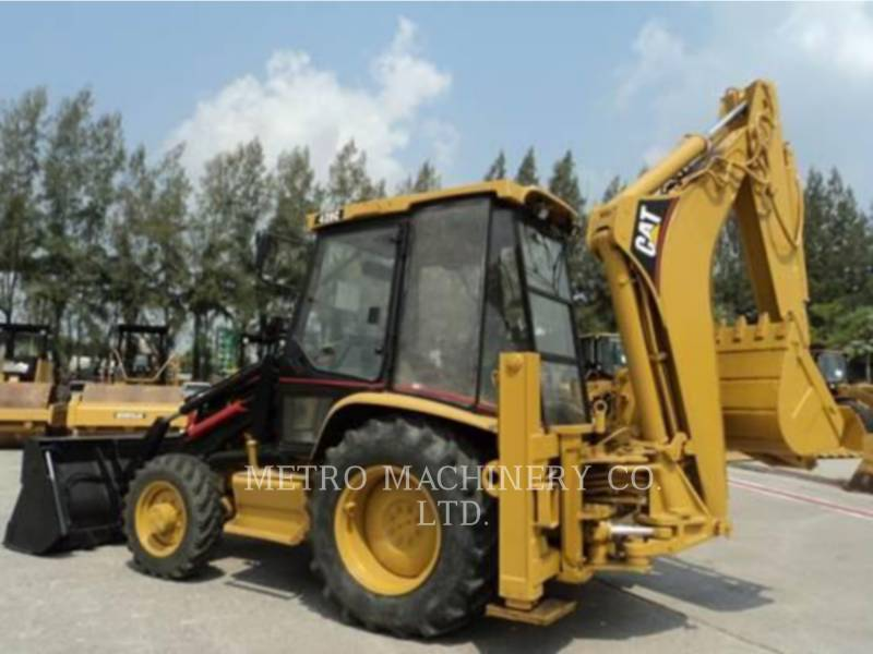 CATERPILLAR RETROESCAVADEIRAS 428C equipment  photo 6