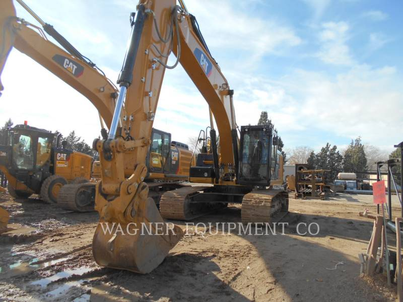 CATERPILLAR PELLES SUR CHAINES 329EL HMR equipment  photo 3