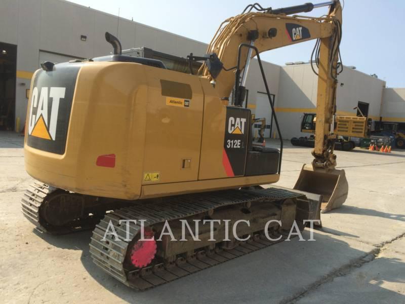 CATERPILLAR TRACK EXCAVATORS 312E equipment  photo 3