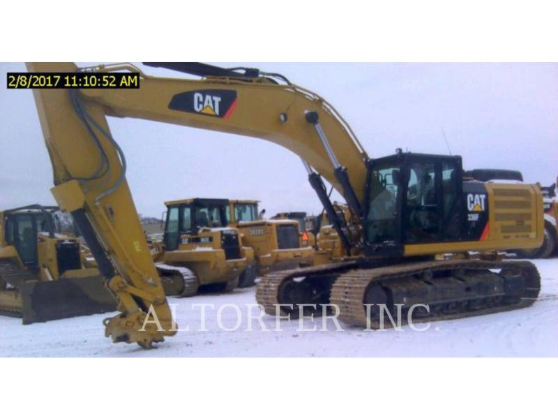 CATERPILLAR トラック油圧ショベル 336FL XE equipment  photo 1