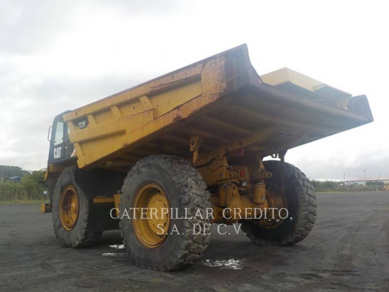 CATERPILLAR OFF HIGHWAY TRUCKS 777F equipment  photo 4