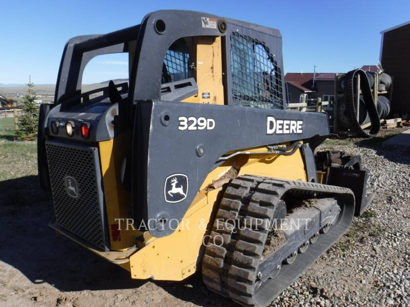 JOHN DEERE SKID STEER LOADERS 329D equipment  photo 5