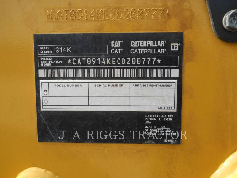 CATERPILLAR WHEEL LOADERS/INTEGRATED TOOLCARRIERS 914K equipment  photo 24