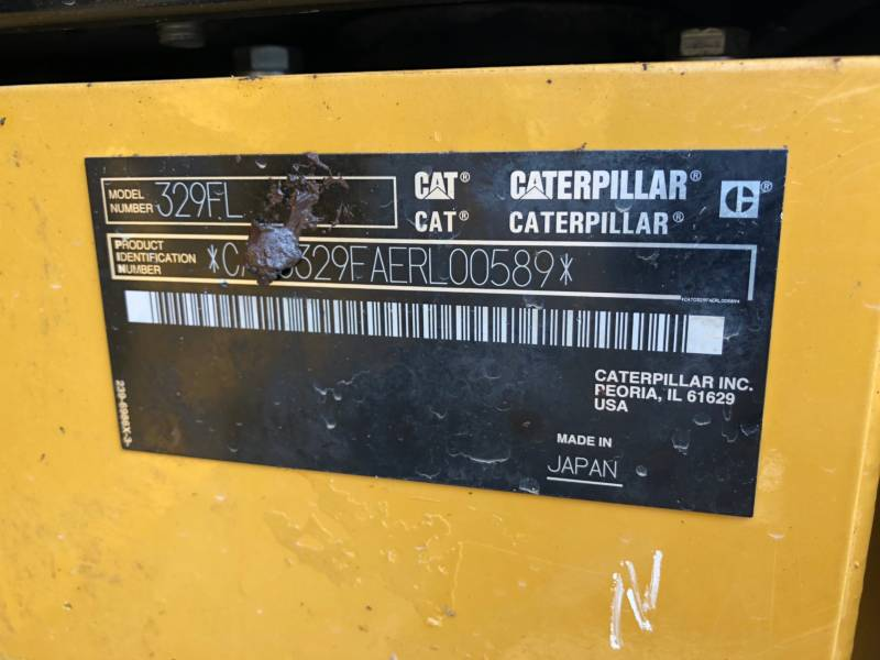 CATERPILLAR EXCAVADORAS DE CADENAS 329FL equipment  photo 21