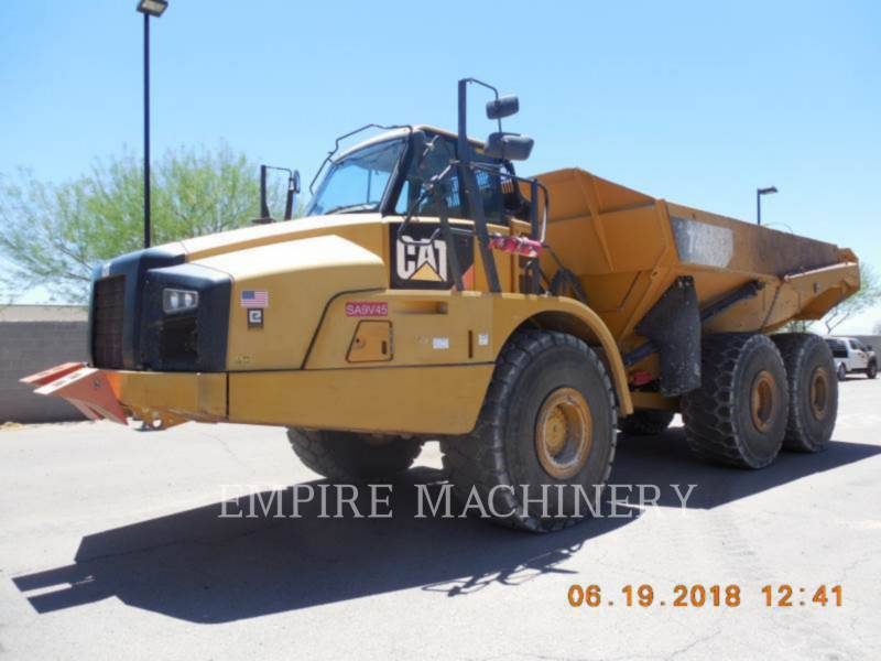 CATERPILLAR DUMPER ARTICOLATI 740B equipment  photo 4