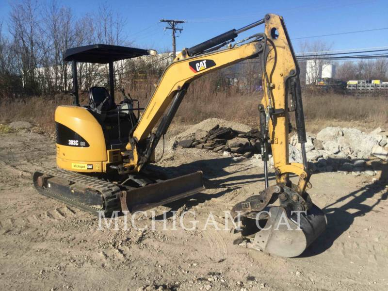 CATERPILLAR TRACK EXCAVATORS 303CCR equipment  photo 1