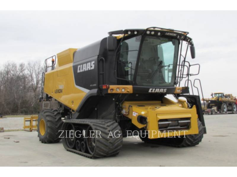 LEXION COMBINE COMBINES 740TT equipment  photo 1