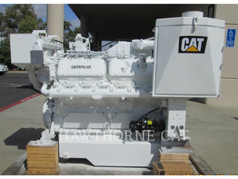 CATERPILLAR MARINE PROPULSION / AUXILIARY ENGINES 3412 DITA equipment  photo 2