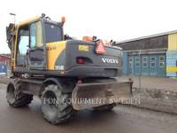 VOLVO CONSTRUCTION EQUIPMENT EXCAVADORAS DE RUEDAS EW160B equipment  photo 2