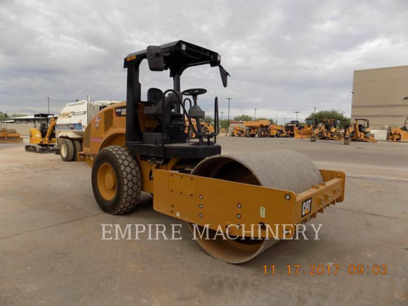CATERPILLAR VIBRATORY SINGLE DRUM SMOOTH CS44B equipment  photo 1