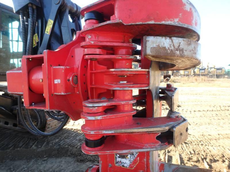 CATERPILLAR FORESTRY - FELLER BUNCHERS - TRACK 521B equipment  photo 9