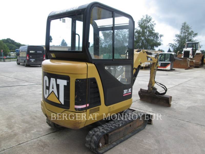 CATERPILLAR TRACK EXCAVATORS 301.8C equipment  photo 5