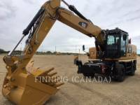 Equipment photo Caterpillar M322F EXCAVATOARE PE ROŢI 1