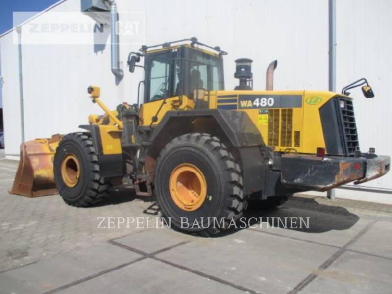 KOMATSU LTD. CARGADORES DE RUEDAS WA480LC-6 equipment  photo 2