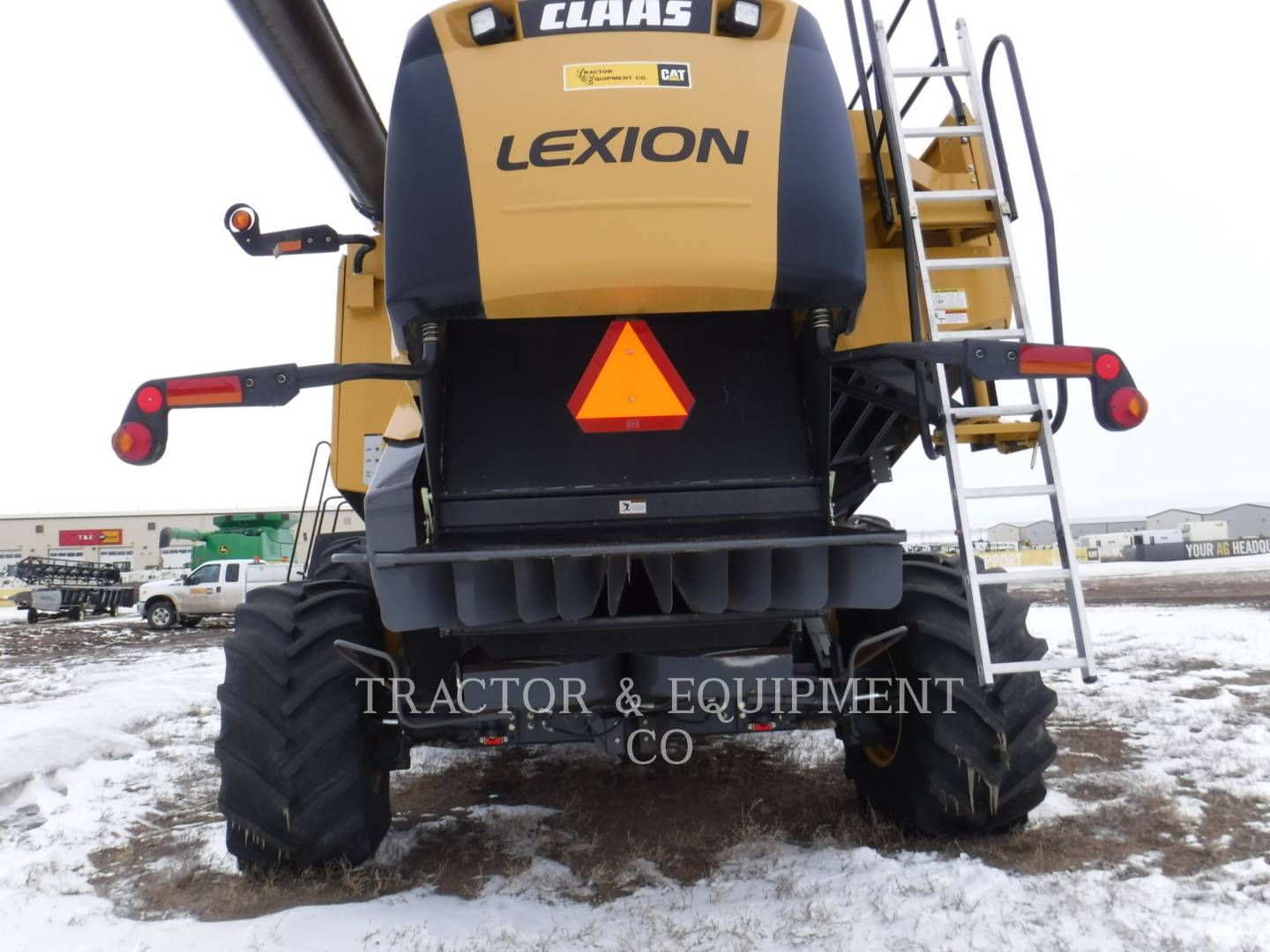 Detail photo of 2008 Lexion LX580R from Construction Equipment Guide