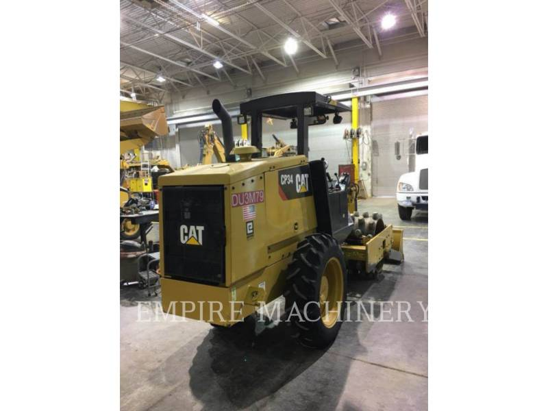 CATERPILLAR COMPACTEUR VIBRANT, MONOCYLINDRE À PIEDS DAMEURS CP34 equipment  photo 4