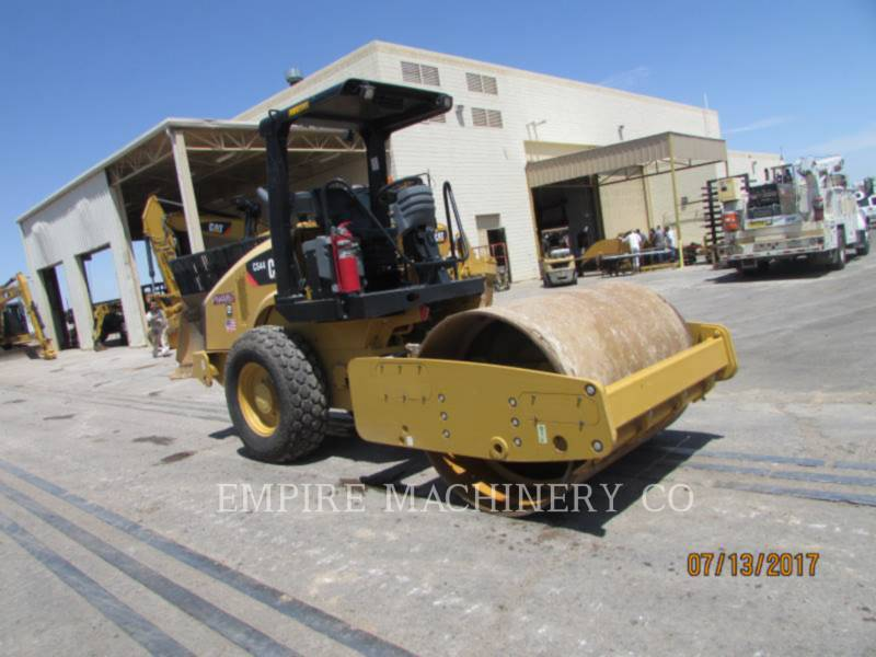 CATERPILLAR VIBRATORY SINGLE DRUM PAD CS44 equipment  photo 4